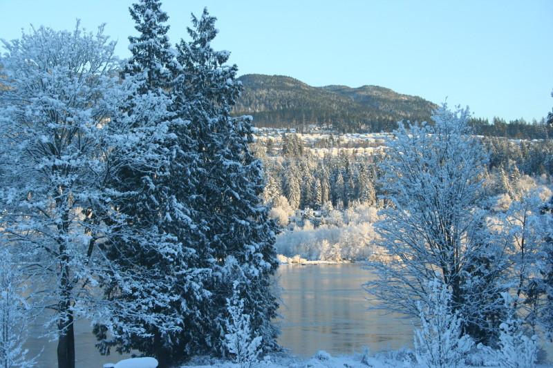 Rocky Point Park, winter