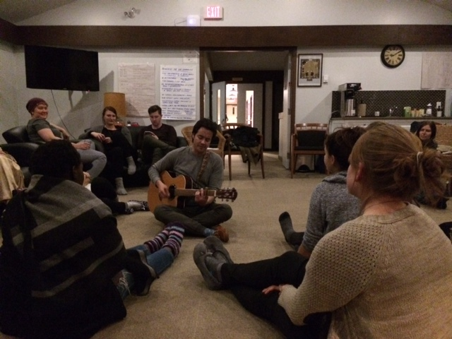 RADIUS Fellows Retreat 2017 - group singalong